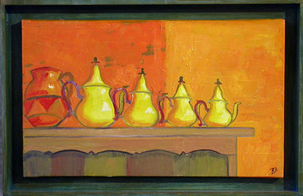 Morrocan teapots