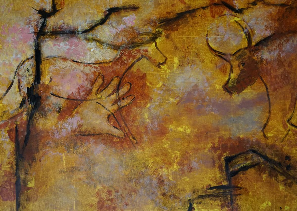 The prehistoric painter